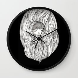 Overwhelmed Wall Clock