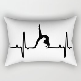 yoga beat Rectangular Pillow