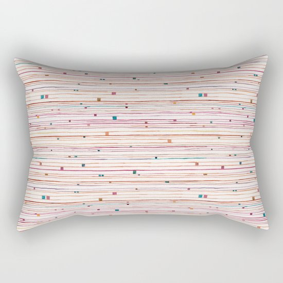 September Pattern Rectangular Pillow