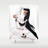 dancing Shower Curtains featuring dancing by arnedayan