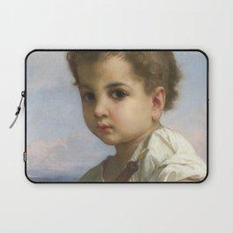 "William-Adolphe Bouguereau ""Flute Player"" Laptop Sleeve"