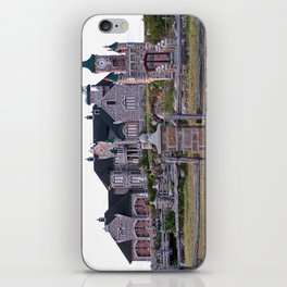 Stone Mansion on the River iPhone Skin