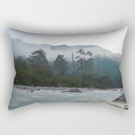Amanecer en la sierra Rectangular Pillow