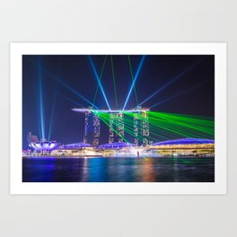 Marina Bay Sands Art Print