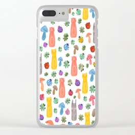 Animals & Lucky charms Clear iPhone Case