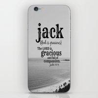 jack white iPhone & iPod Skins featuring Jack by KimberosePhotography
