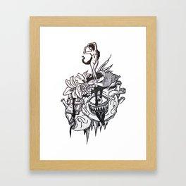 Behold Her Framed Art Print