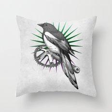 Shiny Throw Pillow