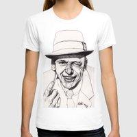frank sinatra T-shirts featuring Frank by Paul Nelson-Esch Art