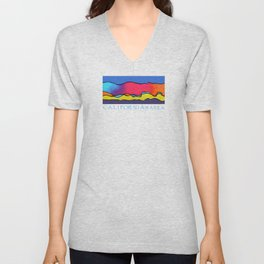 CALIFORNIA WAVE Unisex V-Neck