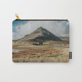 Mt. Stapafell, Snæfellsnes - Landscape Photography Carry-All Pouch