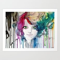 The Charming Idealism Art Print