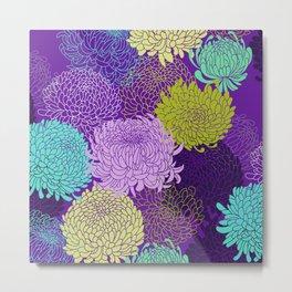 Chrysanthemum blossom Metal Print