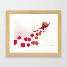 Enamorado Framed Art Print