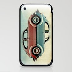 ying and yang Bugs iPhone & iPod Skin