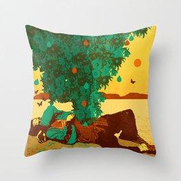 YOUR NATURE Throw Pillow