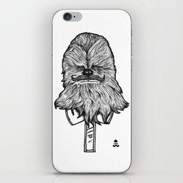 Mustache Wookiee iPhone Skin