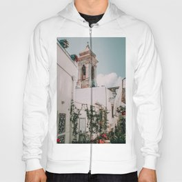 Southern Italy Flowers Town Travel Hoody