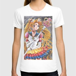 Eternal Sailor Moon Ready for a Battle T-shirt