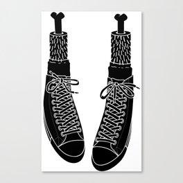 Chuck Feet Canvas Print