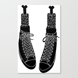 Chuck Feet Canvas Print