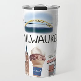 Milwaukee, Wisconsin Travel Mug