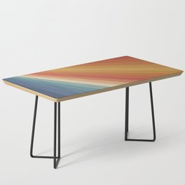 Retro 70s Sunrays Coffee Table