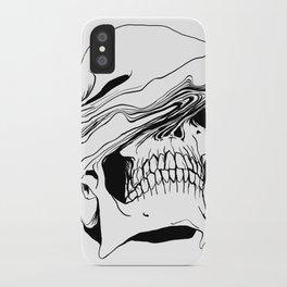 Skull (Liquify) iPhone Case