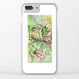 Harebell Clear iPhone Case