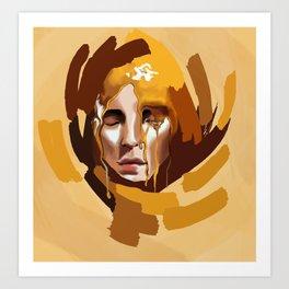 Honey queen  Art Print