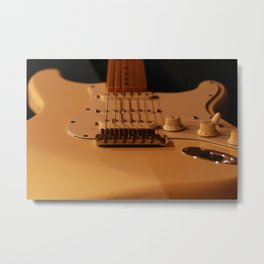 Soft Light Metal Print