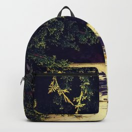 Yellow Wood in Shade Backpack
