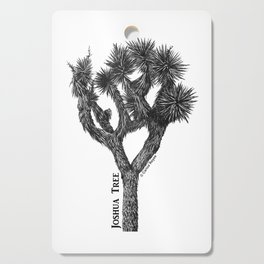 Joshua Tree Burns Canyon by CREYES Cutting Board