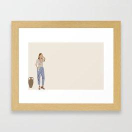 Kinfolk Framed Art Print