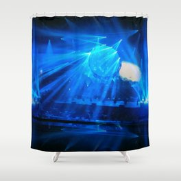 Midnight Blues Shower Curtain