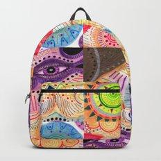 vibrant playful rhythm Backpack