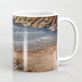 Rock Pools at Ogmore Coffee Mug