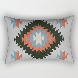 Southwestern Santa Fe Tribal Indian Pattern Rectangular Pillow