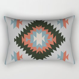 Southwestern Santa Fe Tribal Indian Pattern Rectangular Pillow