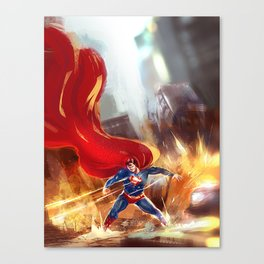 Super power Canvas Print