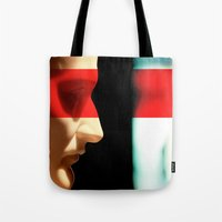 napoleon Tote Bags featuring Silent Napoleon by Xbird