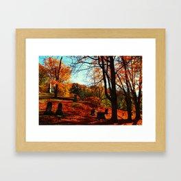 Autumns Rest Framed Art Print