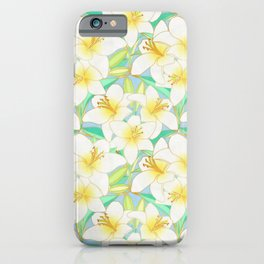 Gilding the Lilies - bright iPhone Case