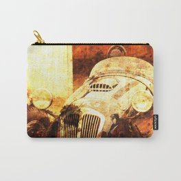 1954 Frazer Nash Le Mans classic race car golden art Carry-All Pouch