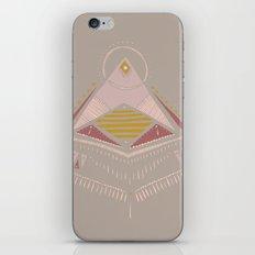 Pyramids 4 iPhone & iPod Skin