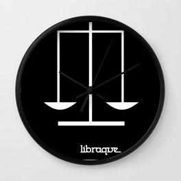 Libra ~ Libraque ~ Zodiac series Wall Clock