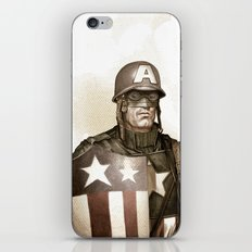 Captain America iPhone & iPod Skin