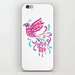 Boho Bird iPhone Skin