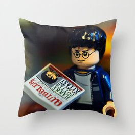 Self-Involved Harry Throw Pillow