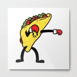 Tacco Martial Arts Boxer Mexican Metal Print